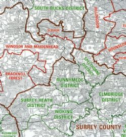 Ordnance Survey Administrative & Electoral Boundary Maps